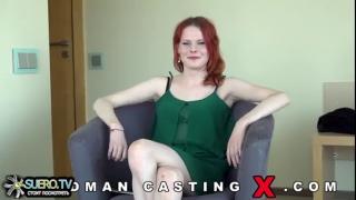Рыжая россиянка Doreen хочет заработать на продажном сексе